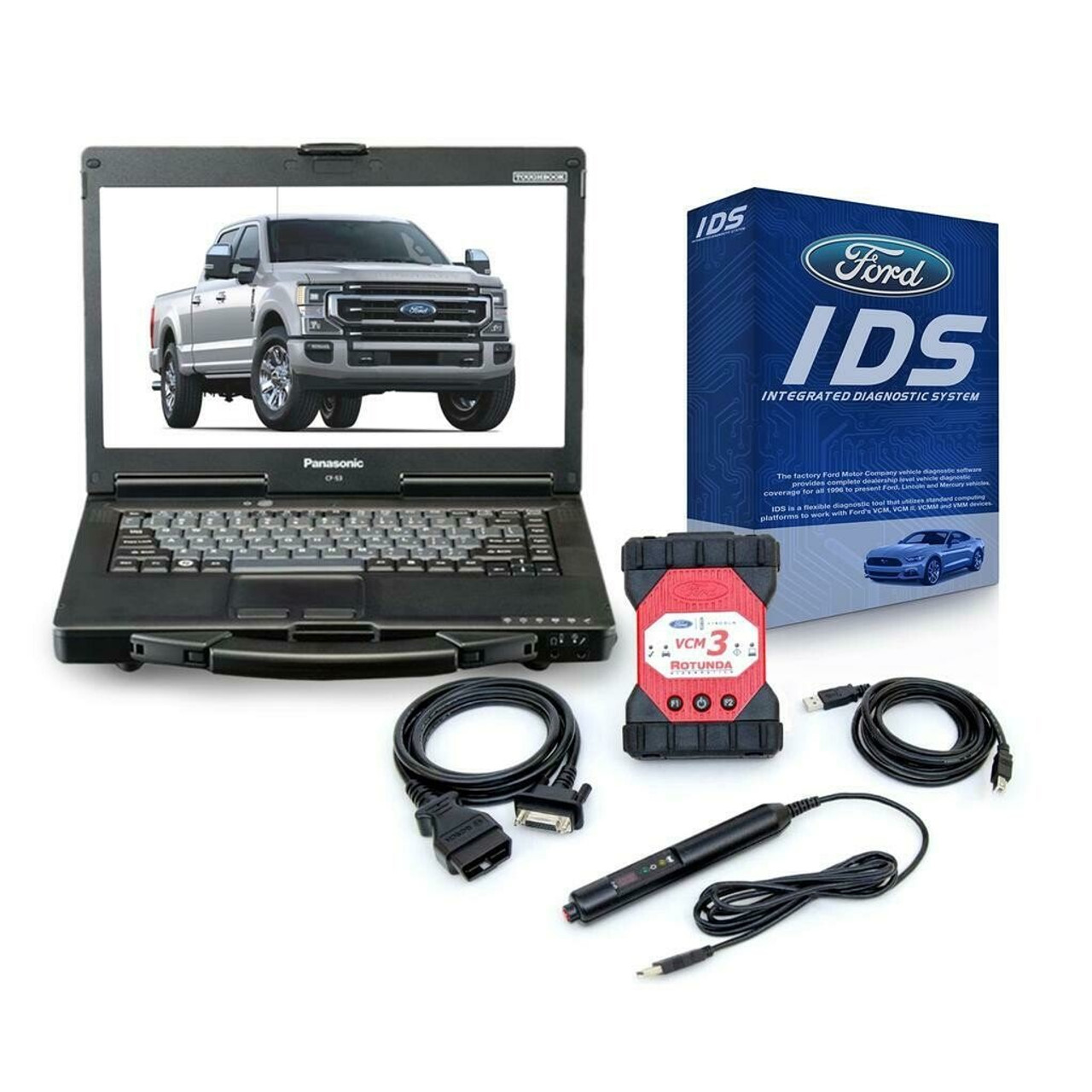 Ford VCM 3 Toughbook Package with IDS