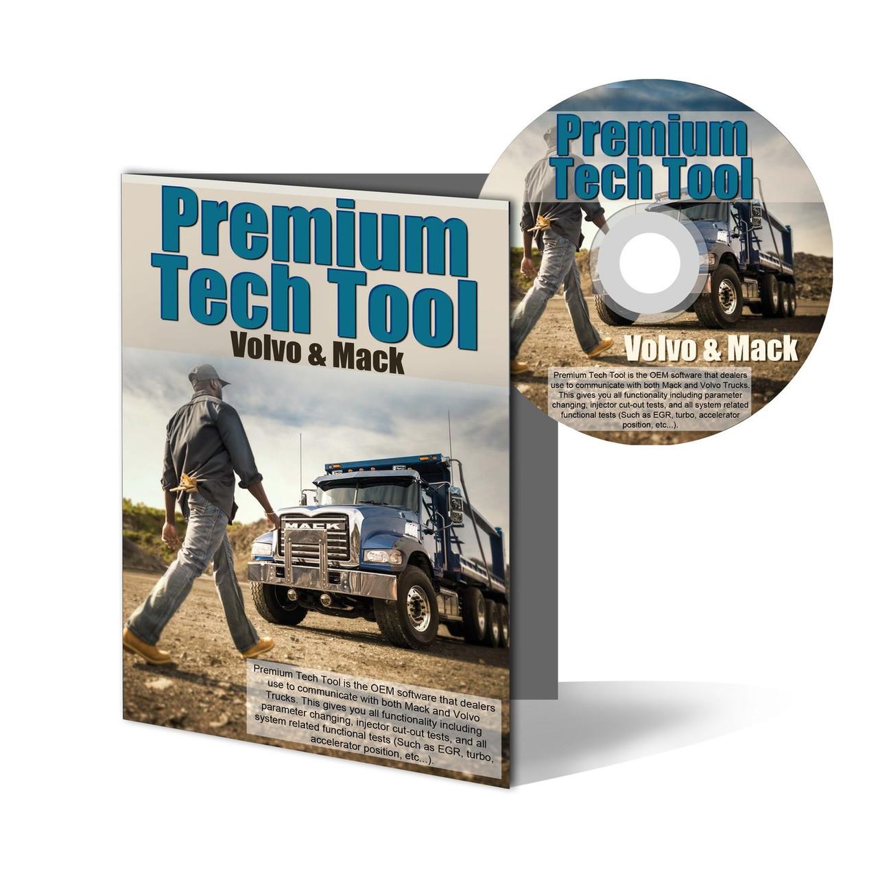 Premium Tech Tool (Volvo) PTT Diagnostic Software