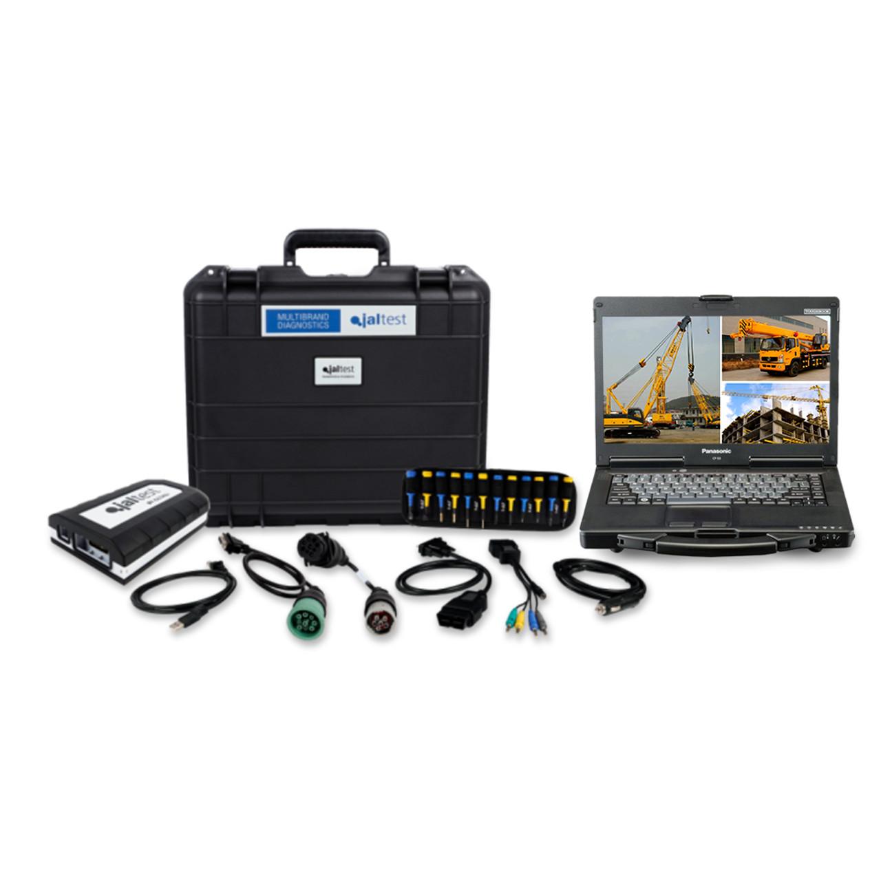 Crane Repair Diagnostic Jaltest Dealer Toughbook Laptop Kit