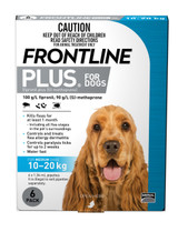 Frontline Plus for Medium Dogs 10-20kg - 6 Pack