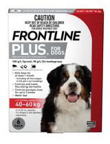 Frontline Plus for Extra Large Dogs 40-60kg - 6 Pack