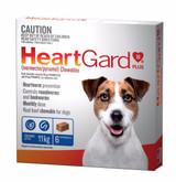 Heartgard Chewables Plus Blue 6 Pack