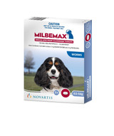 Milbemax Small Dogs Under 5 kg 2 Tablet Pack