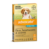 Advocate for Dogs 4-10 kg - 3 Pack