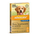 Advocate for Dogs Over 25 kg - 3 Pack