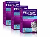 Feliway 48mL Diffuser Refill - 3 Pack