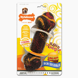 Nylabone Flavor Frenzy Rubber Chew, Bacon Cheeseburger Wolf