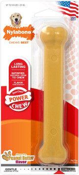 Nylabone Peanut Butter Power Chew Giant Durable Chew Toy for Dogs