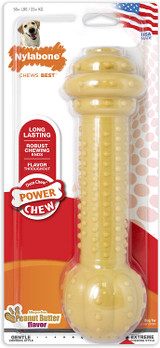 Nylabone Barbell Power Chew Durable Dog Toy Monster