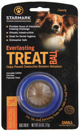 Starmark Everlasting Treat Ball Small Treat Dispensing Toy For Dogs