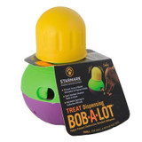 Starmark Bob A Lot Small Food And Treat Dispenser Toy For Dogs