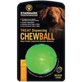Starmark Treat Dispensing Chew Ball Dog Toy Medium Large