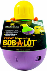 Starmark Bob A Lot Large Food And Treat Dispenser Toy For Dogs
