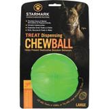 Starmark Treat Dispensing Chew Ball Tough Dog Toy, Large