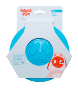 West Paw Zisc Flyer Small (17 cm) - Aqua Blue