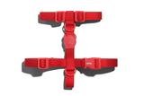 Zee.Dog Neopro Red H-Harness Medium