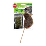 GiGwi Refillable Catnip Teabag Mouse Natural Cat Toy