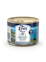 Ziwi Peak Mackerel Canned Cat Food 185g - 12 Cans