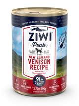 Ziwi Peak Venison Canned Dog Food 390g - 12 Cans
