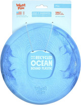 West Paw Seaflex Recycled Plastic Flyer Dog Toy - Sailz - Surf