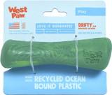 West Paw Seaflex Recycled Plastic Fetch Dog Toy - Drifty Small - Emerald
