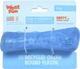 West Paw Seaflex Recycled Plastic Fetch Dog Toy - Drifty Small - Surf