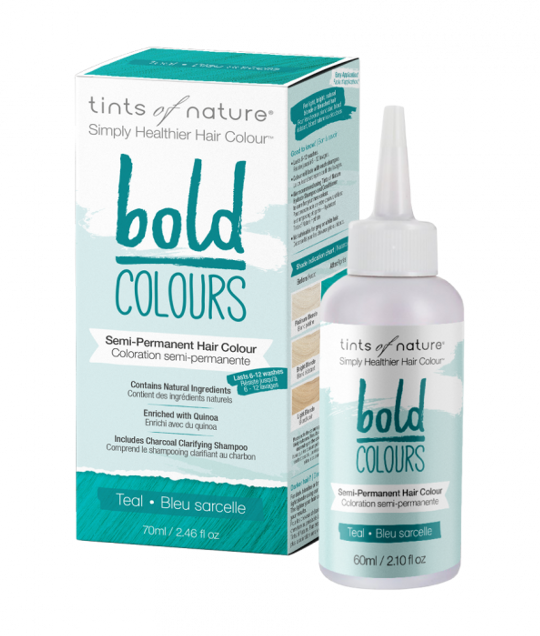 10 Culos tints of nature: bold teal (70ml)