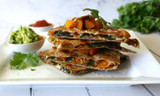 Recipe: Roasted Butternut Squash & Spinach Quesadillas