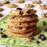 ​Cranberry Walnut Chocolate Chip Cookies