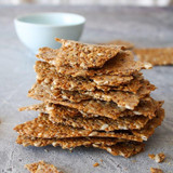 Recipe: Crunchy Flax Crackers