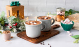 Recipe: Peppermint Hot Chocolate with Vegan Protein