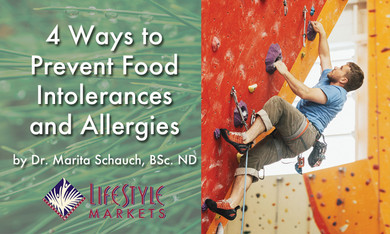 4 Ways to Prevent Food Intolerances and Allergies