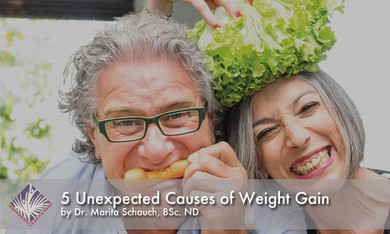 5 Unexpected Causes of Weight Gain