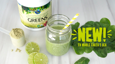 Whole Earth & Sea Fermented Greens, and Protein & Greens