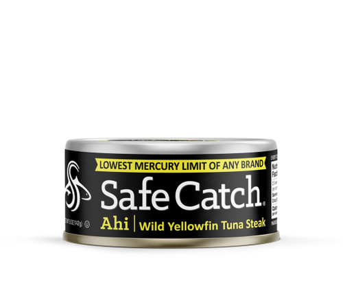 Safe Catch: Low Mercury Wild Yellowfin Tuna (142g)
