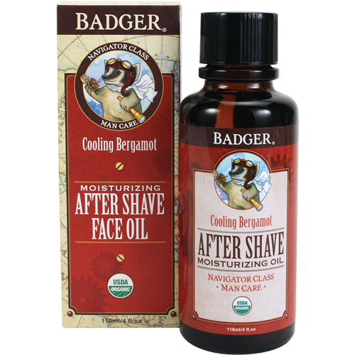 Badger: Moisturizing After Shave Oil (118ml)