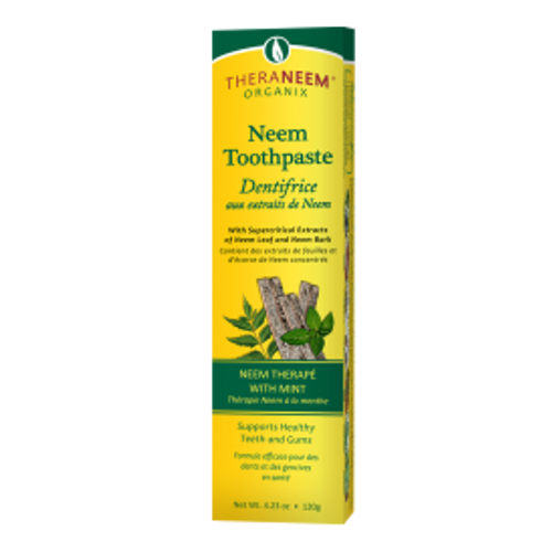 TheraNeem: Neem Toothpaste with Mint (120g)