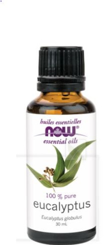 Now: 100% Pure Eucalyptus Oil (30ml)