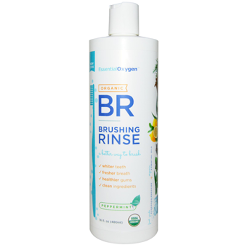 EssentialOxygen: Organic Brushing Rinse (473ml)