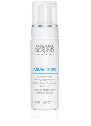 Annemarie Borlind: AquaNature Refreshing Cleansing Mousse (150ml)