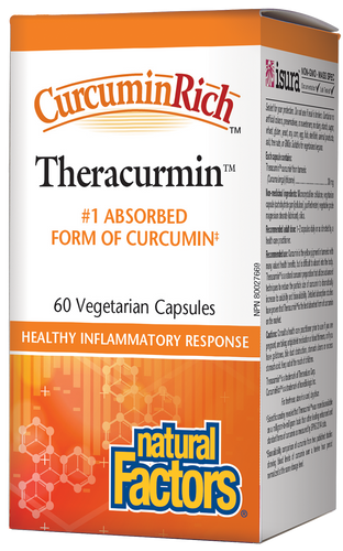 Natural Factors: CurcuminRich Theracurmin (60 Vegetarian Capsules)