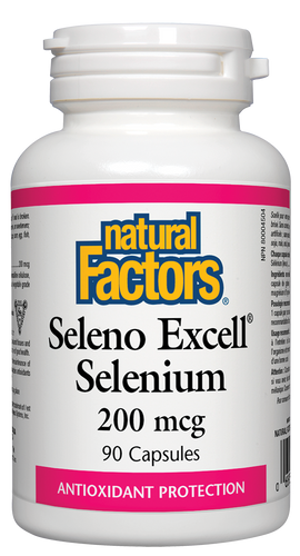 Natural Factors: Seleno Excell (200mcg) (90 Capsules)