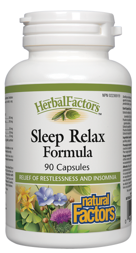 Natural Factors: Sleep Relax (90 Capsules)