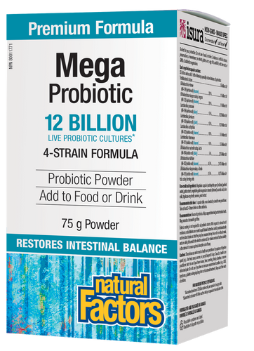 Natural Factors: Mega Probiotic Powder (75g)