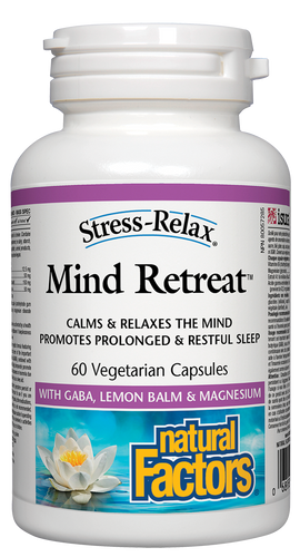 Natural Factors: Mind Retreat (60 Vegetarian Capsules)