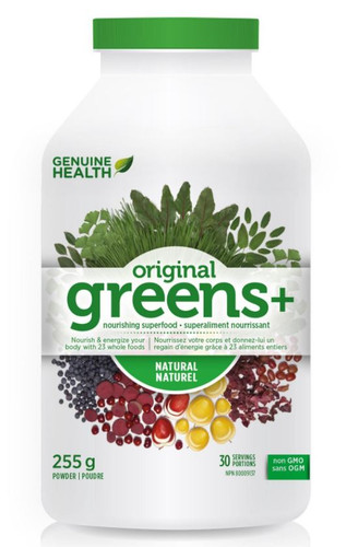 Genuine Health: Greens+ - Natural (255g)