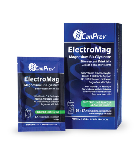 CanPrev: ElectroMag Magnesium Bis-Glycinate Drink Mix - Electric Lime (6.7g)