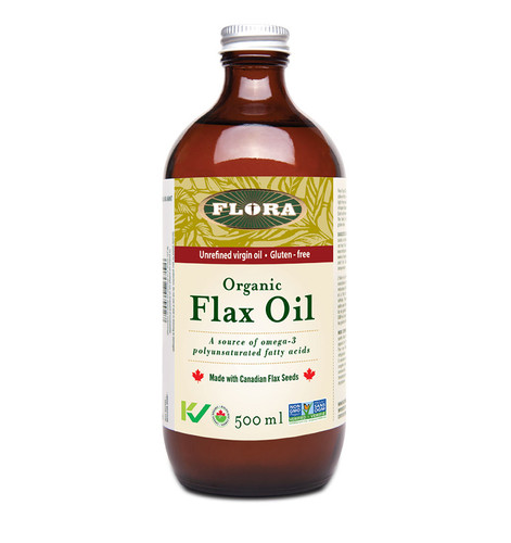 Flora: Organic Flax Oil (500ml)