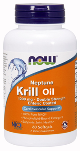 Now: Neptune Krill Oil (1000mg) (60 Softgels)
