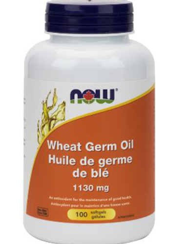 Now: Wheat Germ Oil (1130mg) (100 Softgels)